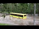CRAZY bus in water! Russia 25.06.2015