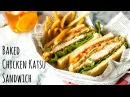 How To Make Crispy Chicken Sandwich (Recipe) チキンカツサンドの作り方 (レシピ)