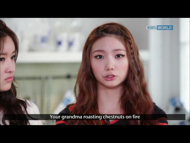 [Easy Korean Cooking] Let's cook Korean snack Yulan with Eyoung Kaeun of 'AfterSchool'