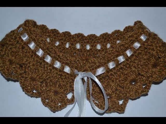 Маленький воротник Small collar crochet