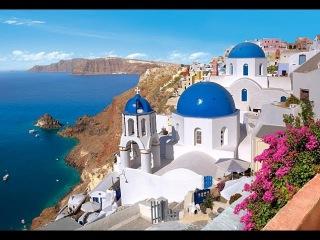 Греция моими глазами 4. остров Санторини. Лето. море. пляж. еда.