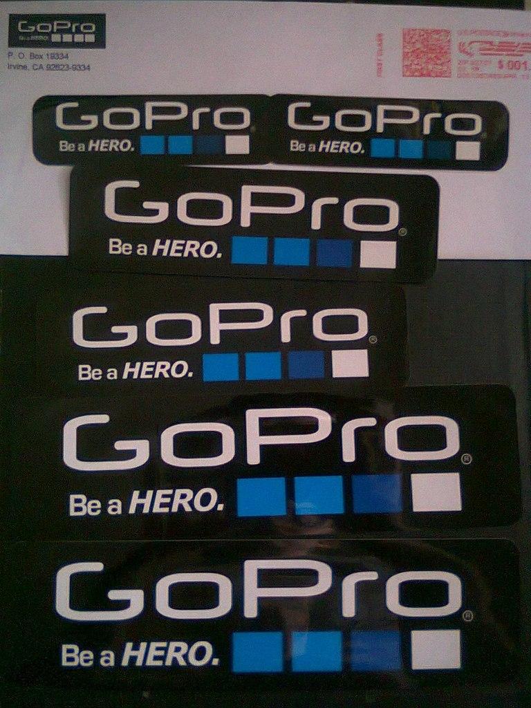 Наклейка от GoPro