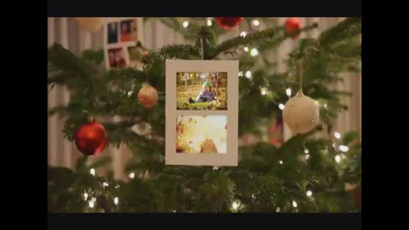 Пример клипа: семейный праздник, Рождество, Новый Год.