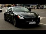 Тест-драйв Maserati Quattroporte в программе Москва рулит