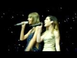 Cool Kids - Taylor Swift and Sydney from Echosmith - 1989 World Tour - Columbus, Ohio - 9-18-15