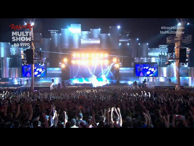 Iron Maiden: Afraid to Shoot Strangers Live at Rock in Rio 2013 - I Was there
