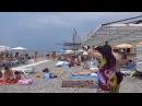 Обезьянкам тоже нужен отдых. Лазаревское, август 2015. Пляж Лазаревское взморье.