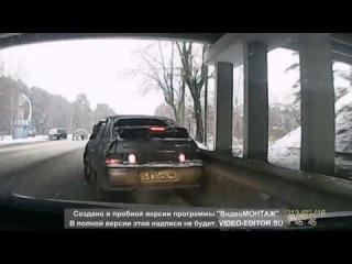 Подборка шокирующих страшных Российских ДТП Москва и область (МО) за декабрь 2014 #4