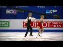 Kaitlin Hawayek & Jean Luc Baker Short Dance Four Continents Championships 2015
