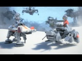 LEGO® Star Wars™ - Микро Битва на планете Хот. Мини фильм.