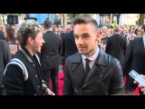 ONE DIRECTION WORLD PREMIERE Niall Horan, Liam Payne and Louis Tomlinson are fun on the red carpet a