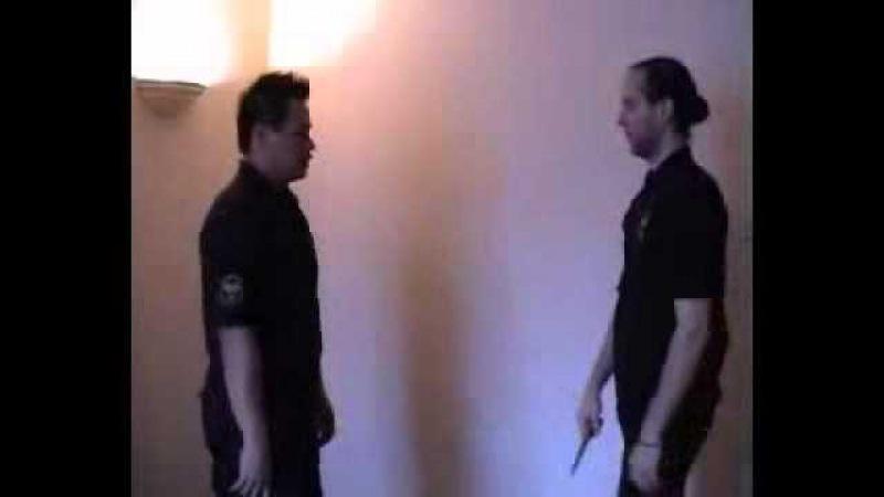 Defense with silat bela diri