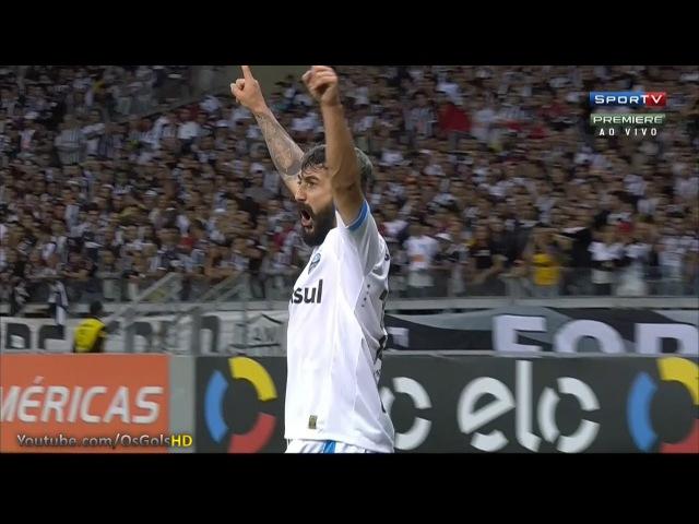 Gol de Douglas, Atletico Mineiro 0 x 2 Grêmio - Brasileirão 13/08/2015