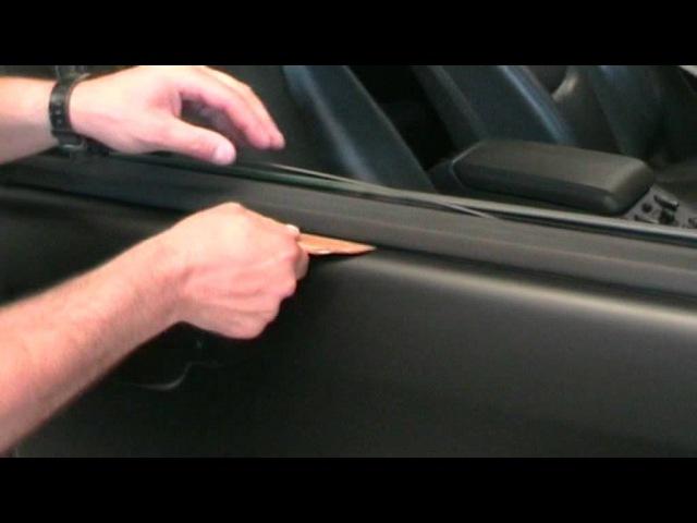 Car Wrapping Tutorial italiano carbon 3m nero opaco chrome