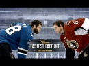NHLers Brent Burns and Bobby Ryan's epic mini-stick battle is a hilarious blast from the past