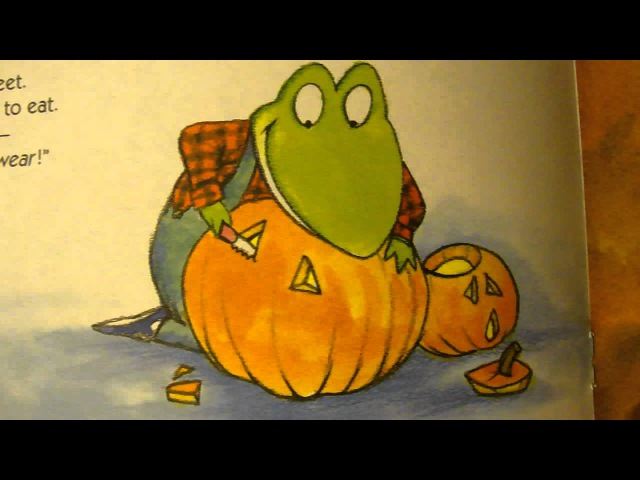 Froggys Halloween children read aloud story toddler and preschooler halloween picture book