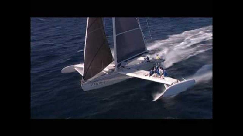 Hydroptere - world sailing record - 51 knots