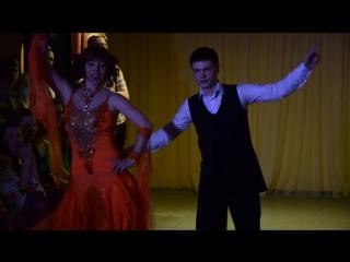 Танцевальный Марафон 2015 - Ольга Михайловна Рубцова и Егор Бригида