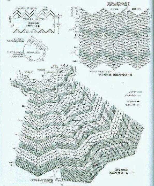 Схема детского сарафана крючком.