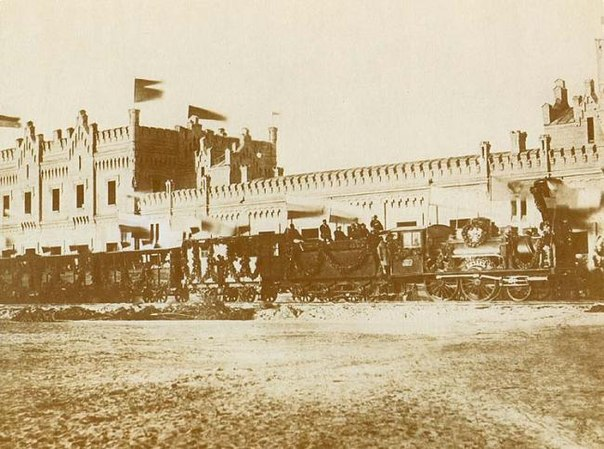Первый поезд - Киевский вокзал
