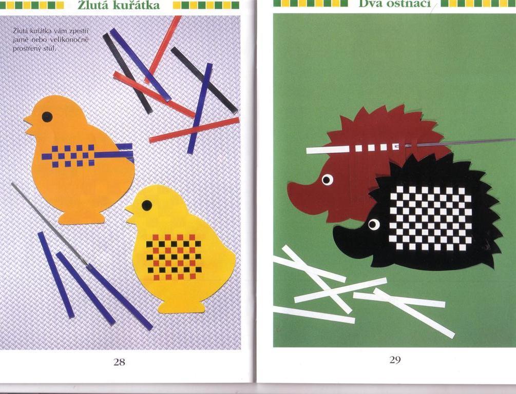 Плетение из бумажных полосок схемы