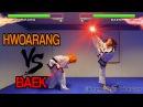 Real Life Tekken Fight | HWOARANG Vs BAEK | Flips Kicks (Alternate Ending)