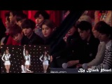 EXO watching Apink and Girls Day - Expectation