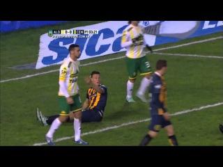 Gol de Ruben. Aldosivi 0 - Central 1. Fecha 16. Primera División 2015. FPT.