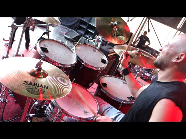 Psychonaut 4 - I Wanna Be Your Dog (The Stooges Cover) (Drum Cam) (Live at CAMF 2015, 24.07.2015)