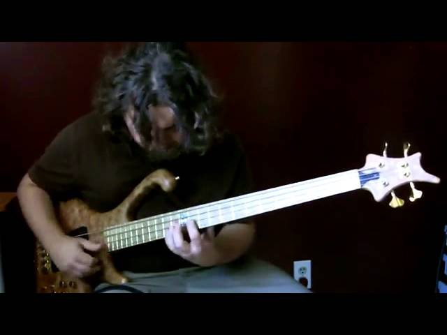 Amazing bass guitar solo by Aram Bedrosian