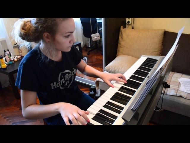Т9 - Ода нашей любви (вдох-выдох) piano