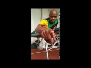 Team Jamaica Funny Usain Bolt Asafa Powell