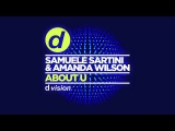 Samuele Sartini &amp Amanda Wilson About U Cover Art