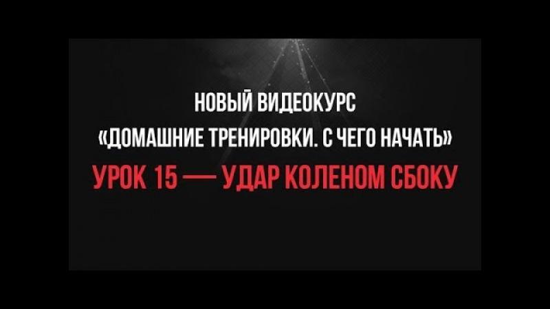 Урок 15 - Удар Коленом Сбоку • видеокурс «С Чего Начать»