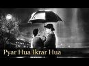 Pyar Hua Ikraar Hua - Raj Kapoor Nargis - Shree 420 - Bollywood Evergreen Songs - Manna Dey Lata