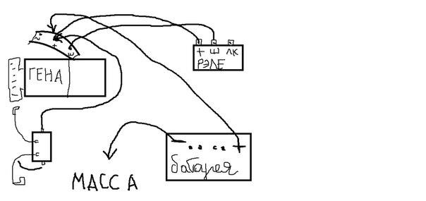 Реле зарядки мотоцикл урал схема