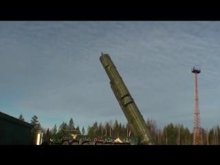 Тестовый пуск МБР «Тополь» с космодрома Плесецк