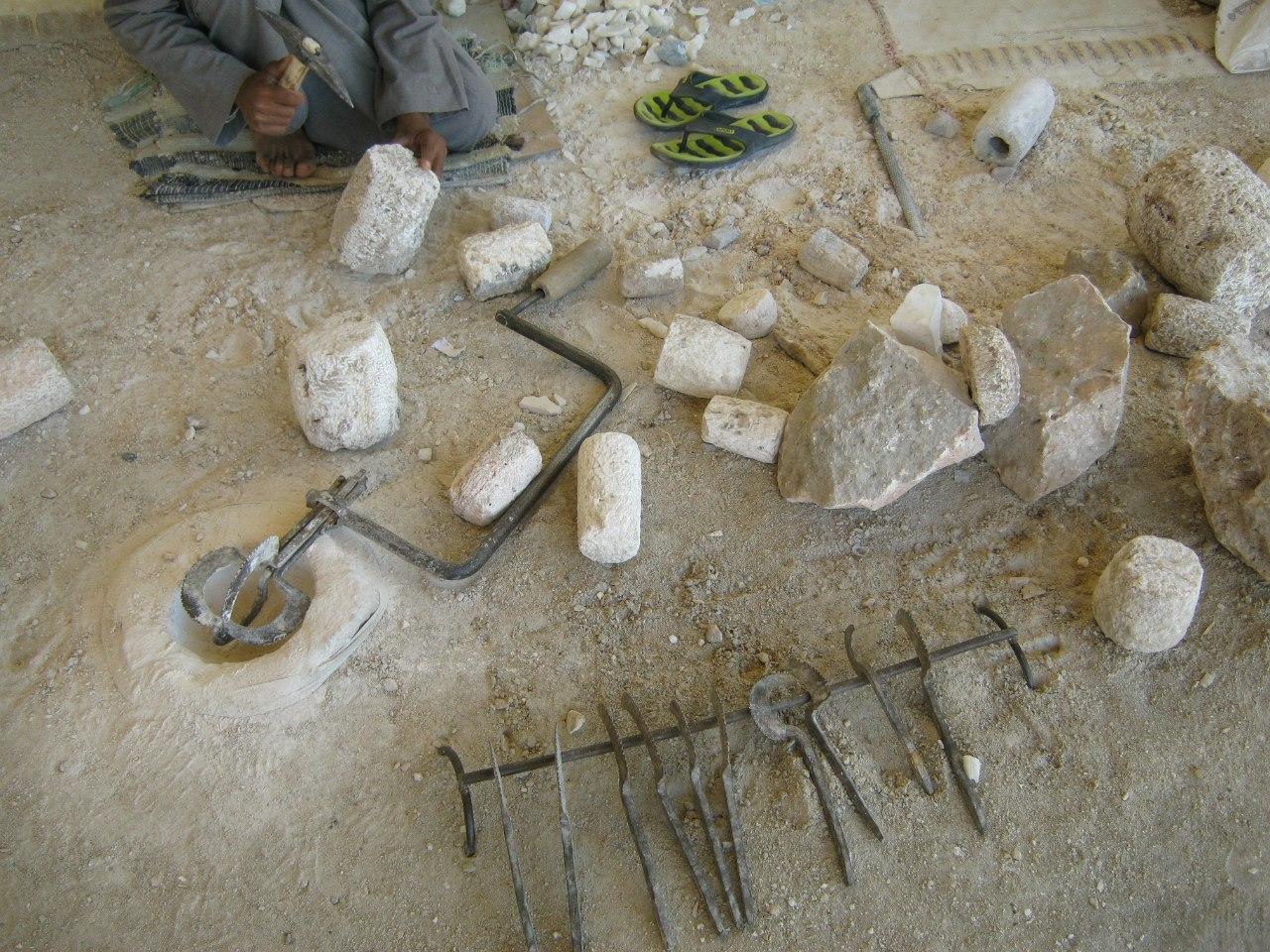 Инструменты в мастерской на западном берегу Луксора
