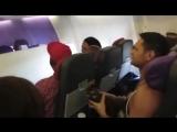 Мюзикл Король лев в самолете