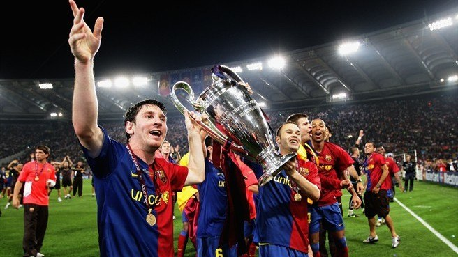 Лига чемпионов, Лионель Месси, Барселона
