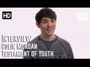 Colin Morgan Interview Testament of Youth
