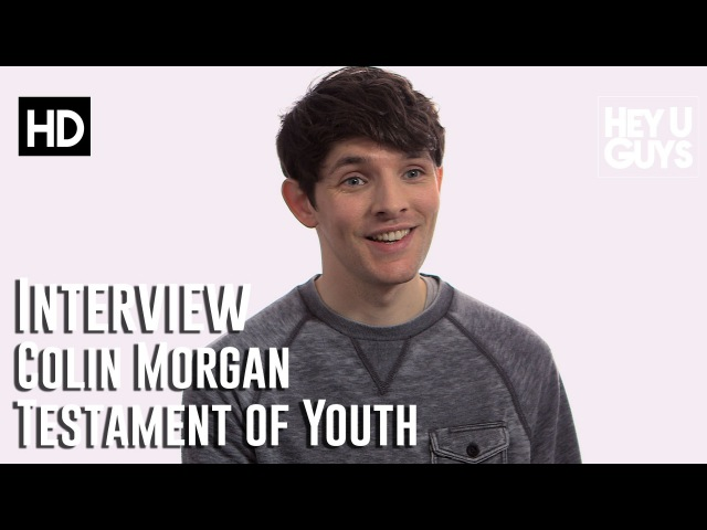 Colin Morgan Interview - Testament of Youth