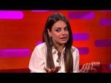 Mila Kunis: Russian Sounds Like Klingon! (The Graham Norton Show)