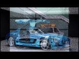 Forza Horizon 2 Free Roam : Mercedes SLS AMG Bucket List Challenge (with Wheel Cam)