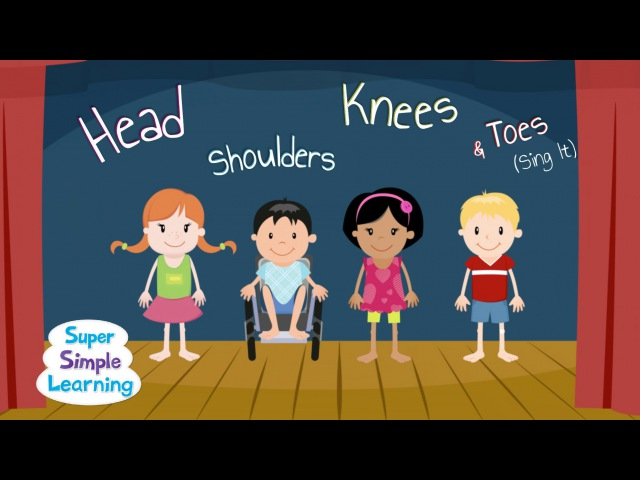 Head Shoulders Knees Toes (Sing It)
