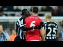 SPITTING: Jonny Evans and Papiss Cisse Disgraceful SHOCKING