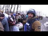 Эвакуация под обстрелом! Эксклюзивный Репортаж Евгения Поддубного из Углегорска
