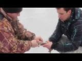 Зимняя рыбалка  Ловля щуки на жерлицы/ Turistorii 2015
