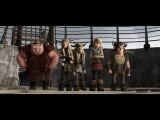 Как приручить дракона  How to Train Your Dragon (2010) Русский трейлер