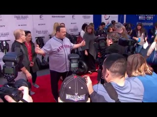 Paul Blart Mall Cop 2 Premiere Red Carpet - Kevin James, Daniella Alonso, Eduardo Verastegui